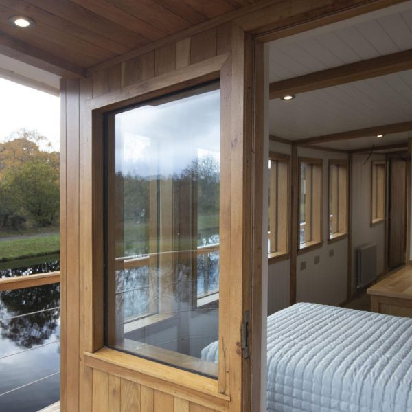 The Sunart Cabin on the Highland Lassie boat
